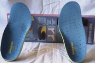 Conformable Mouldable Hiking and Ski Boot Insoles